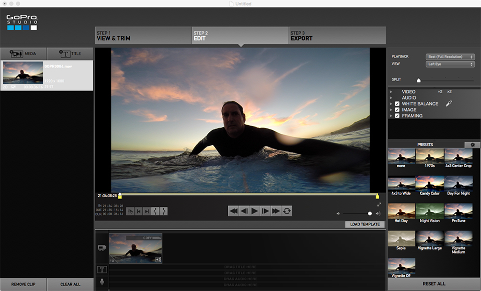 Intro to gopro studio software mental ward design for How to use gopro studio templates