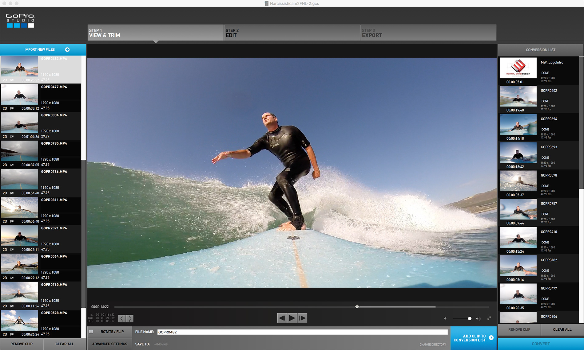 Editing video with a gopro blank template mental ward design for How to use gopro studio templates