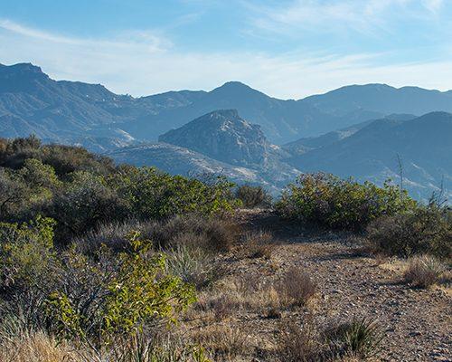 hiking trail in Ventura county